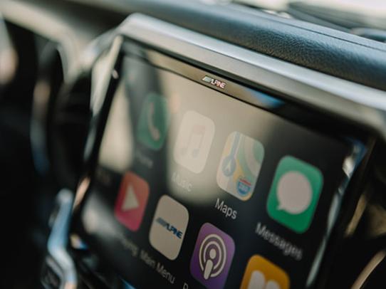 Apple CarPlay Jeep Wrangler Upgrade